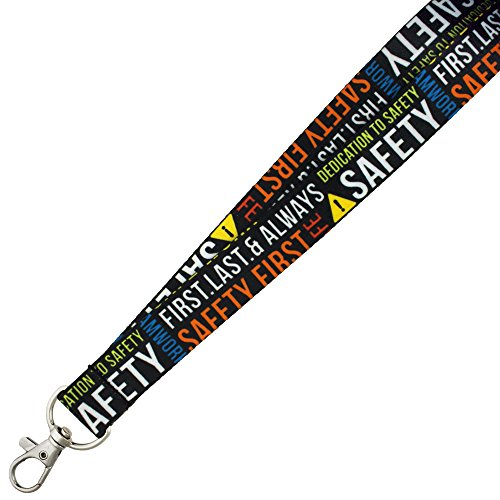 Pinmart s Full Color Corporate Safety Lanyard w/ Safety R...