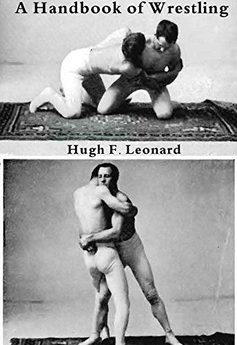 A hand-book of Wrestling by Hugh F. Leonard (History of wrestling - Olympic Wrestling Pin
