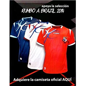 8418b54db59 Lotto Panama Fepafut Official Soccer Jersey Futbol Camiseta: Amazon.co.uk:  Sports & Outdoors