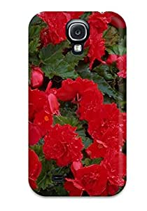 Alex D. Ulrich's Shop Lovers Gifts Pretty Galaxy S4 Case Cover/ Red Flowers Series High Quality Case 6308135K54947148