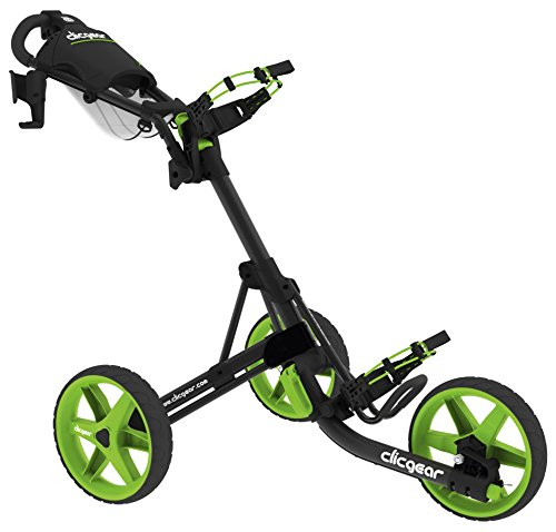 Clicgear 3.5+ - Golf Trolley (Charcoal/Lime)