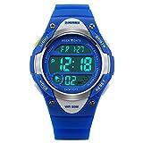 Kids Sport Multifunction Digital Watch Children Outdoor Waterproof Wristwatch With LED for Boys Girls