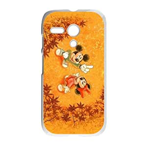 Disney Mickey Mouse Minnie Mouse Motorola G Cell Phone Case White PhoneAccessory LSX_674232