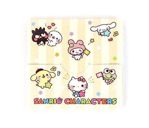Sanrio characters Sticky Notes Set: Stripes