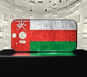 Funda Carcasa para HTC M8 Bandera OMÁN 01