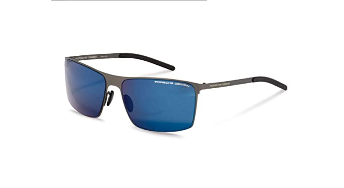 715e8bf1492fb Image Unavailable. Image not available for. Color  Authentic Porsche Design  P 8667 C Gunmetal Sunglasses