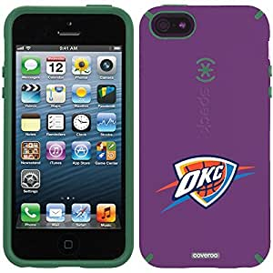 Speck iphone 4s Purple CandyShell Case with Oklahoma City Thunder OKC Design by Coveroo