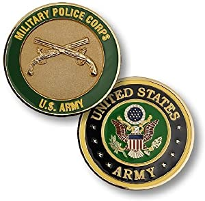U.S. Army Military Police Corps Challenge Coin