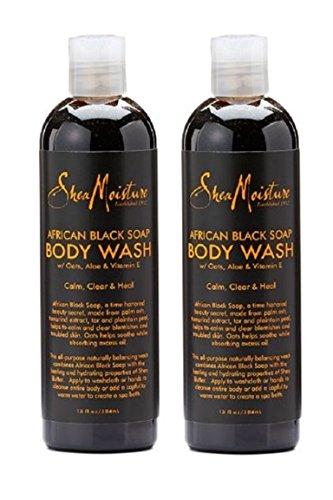Shea Moisture Black Soap Body Wash - 4