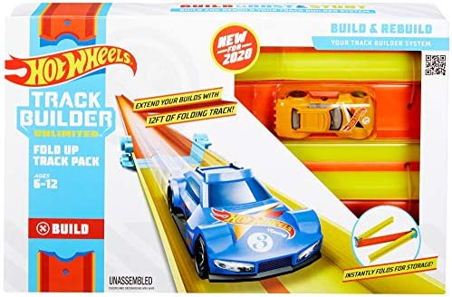 Hot Wheels Track Builder Straight Track Pack Black Ship Soon Get By Dec 25