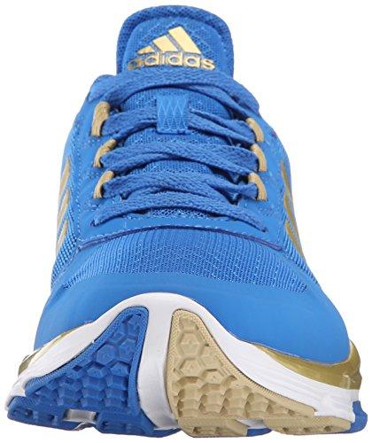 Adidas Heren Freak X Carbon Mid Cross Trainer Bright Royal / Goud Metallic / Tech Grijs / Metallic