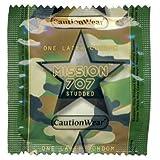 Caution Wear Mission 707 Condoms 12 Pack