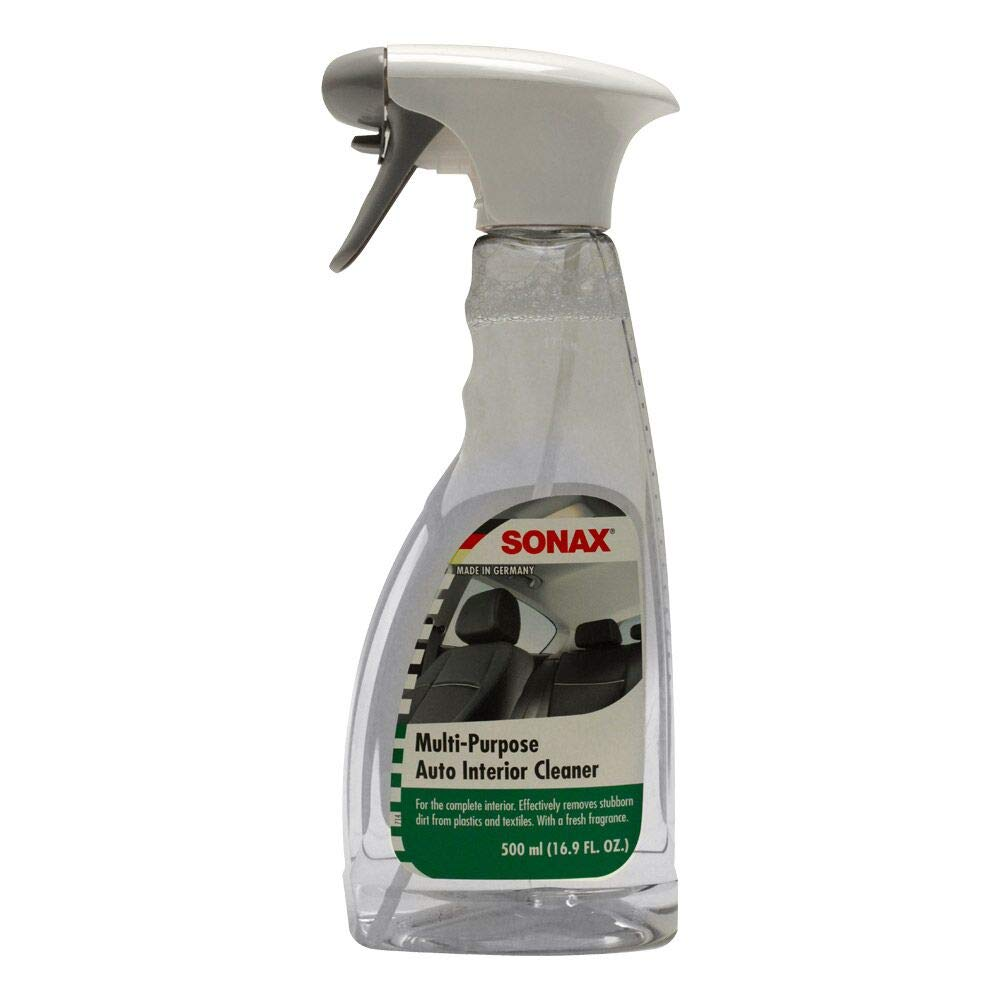 Sonax 321200-6-6PK Multi-Purpose Auto Interior Cleaner, 16.9 fl. oz., (Case of 6)
