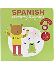 Cali's Books Spanish Nursery Rhymes 2- Press, Listen and Sing Along! Bilingual Spanish-English Sound Book for babies and Toddlers Ages 1-3