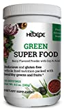 Hebepe Plant-Based Advanced Daily Green Super Food Powder-Goji&Acai- Healthy Greens&Fruits-Natural Whole Food Ingredients-30 Servings, 8.5 Ounces For Sale