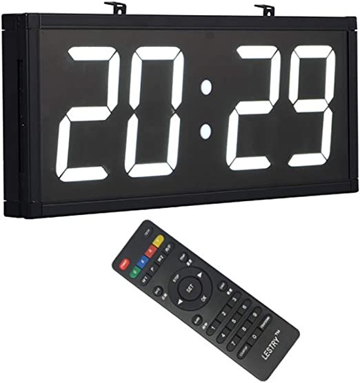 MYLEDI Sala De Reuniones Hospital Reloj Digital Pared Reloj Grande ...