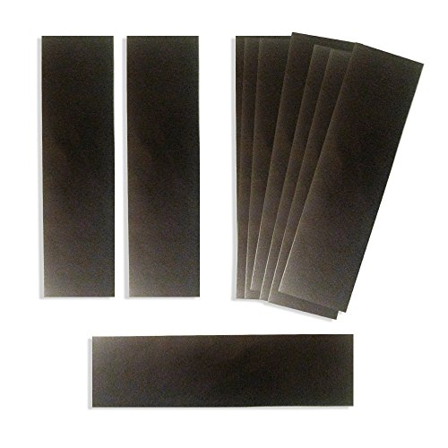 """Anti Tarnish Strips Tabs 2"""" x 7 """" - Revolutionary Breakthrough Technology Silver Tarnish Strips - 10 Pack - Tarnish Free Jewelry Storage - Perfect for protecting jewery, flatware, holloware, electronics & Musical Equipment from Tarnish and Corrosion"""