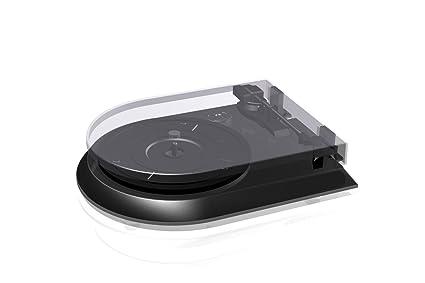 Protelx GPO M15 - Tocadiscos portátil (USB, estéreo), color negro ...