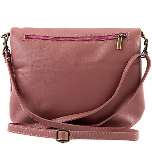 Bag Underarm Girl Leather Ital Small Clutch leather Bag T07 nappa Shoulder Altrosa Bag Bag Shoulder X8gFZqg