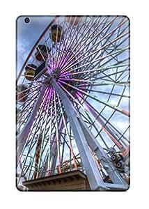 New HHJypGu3090TeBPg The Colorful Ferris Wheel Skin Case Cover Shatterproof Case For Ipad Mini/mini 2