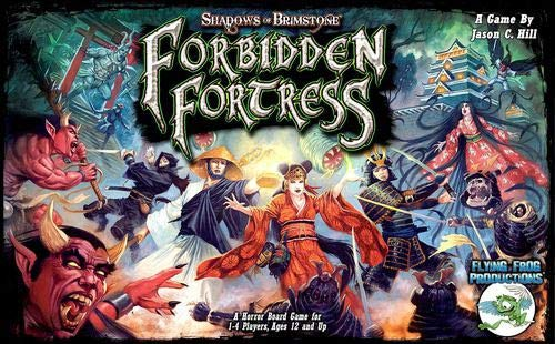 Flying Frog Productions: Shadows of Brimstone: Forbidden Fortress Core Set (Set Fortress Dark)
