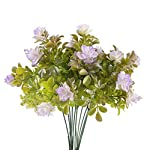 MARJON-Flowers2-Pcs-Artificial-Flowers-Fake-Rhododendron-Plastic-Flowers-Artificial-Greenery-Shrubs-for-House-Garden-Vase-Yard-Indoor-Outside-Dcor-Purple