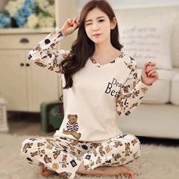 MH-RITA New Listing Wavmit2016 Winter Pyjamas Women Carton Cute Pijama Pattern Pajamas Set Thin