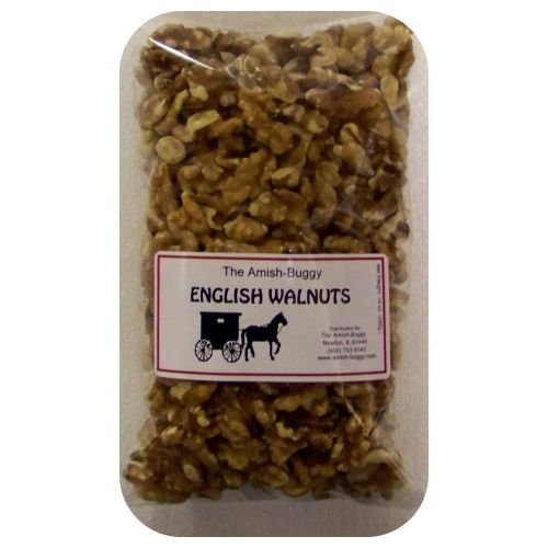 Walnut English (Amish English Walnuts - Two 14 Oz Packages)