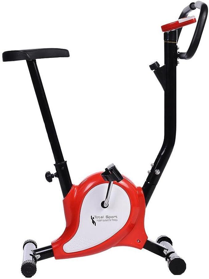 cooshional Bicicleta estática con sensores de pulso de mano ...