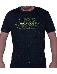 Sporticus Men's Star Wars The Force Awakens Deep Space T-shirt