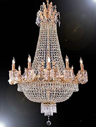 French empire gold crystal chandelier chandeliers lighting 25x32 french empire gold crystal chandelier chandeliers lighting 25x32 12 lights aloadofball Gallery