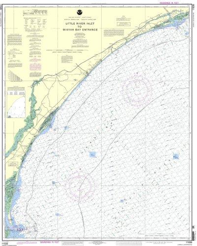 (NOAA Chart 11535: Little River lnlet to Winyah Bay Entrance)