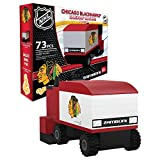 OYO Sportstoys OYOHZACBH Zamboni Machine Chicago Blackhawks 73 Piece Building Block Set, One Size
