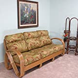 Premium Rattan Kailua Sofa Made to Order in the USA 100% Assembled