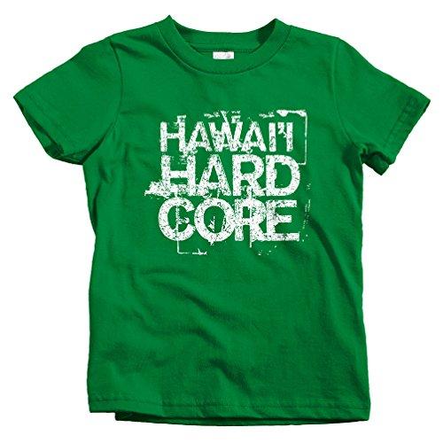 Smash Transit Kids Hawaii Hardcore T-Shirt - Kelly Green, Baby 18M