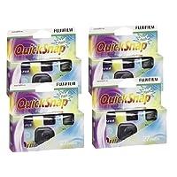 4pcs Fuji Quicksnap Single use camera flash X-tra 400asa 27EXP