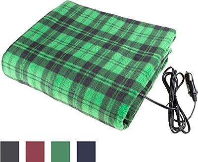 Trademark Blanket Electric Blanket for Automobile-12 Volt Powered