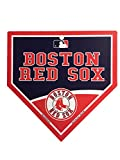 "Boston Red Sox MLB 9.25""x9.25"" Home Plate Street Sign"