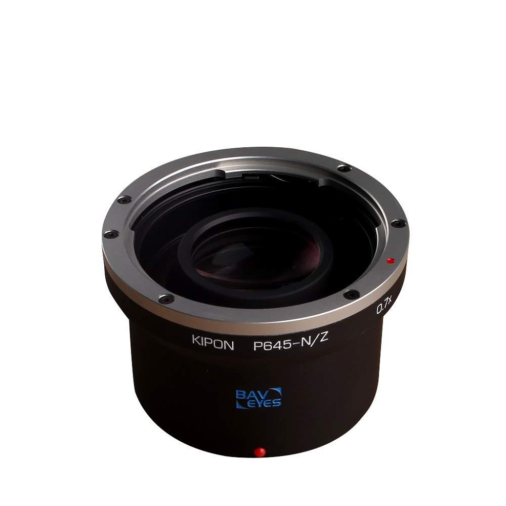 KIPON BAVEYES PENTAX645-NIK Z 0.7x フォーカルレデューサーマウントアダプター (対応レンズ:ペンタックス645マウントレンズー対応ボディ:ニコンZマウント)   B00MAFT5EU