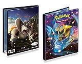 Ultra-Pro 4-Pocket Pokemon Card Binder/Portfolio ft. Giratina and Terrakion from Dragons Exalted (Holds 40-80 Cards)