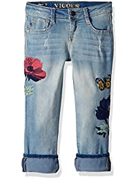Girls' Fashion Crop Skinny Jean,