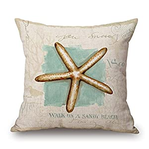 51UvSlk31lL._SS300_ 100+ Coastal Throw Pillows & Beach Throw Pillows
