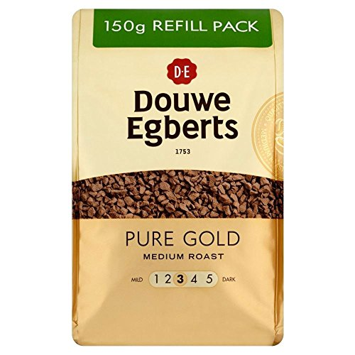 Price comparison product image Douwe Egberts Pure Gold Medium Roast Coffee (150g)