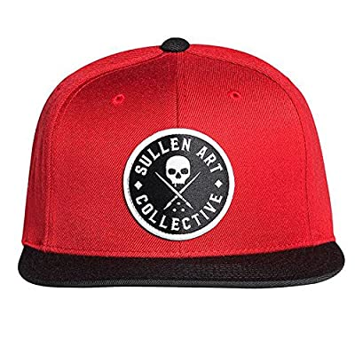 Sullen Clothing Seal Snapback Hat Red from Sullen Clothing