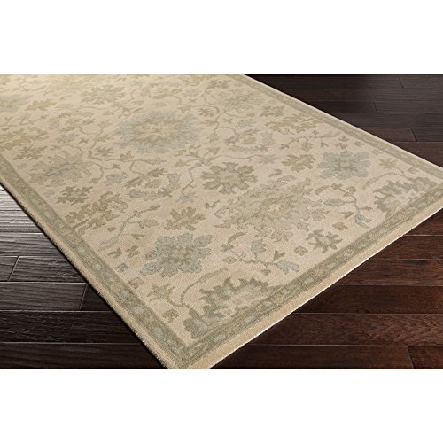 Surya Caesar Neutral Area Rug, 4 x 6 , Beige Dark Green Light Gray Olive Tan