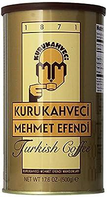 Kurukahveci Mehmet Efendi Turkish Coffee,17.6 Ounce from Kurukahveci