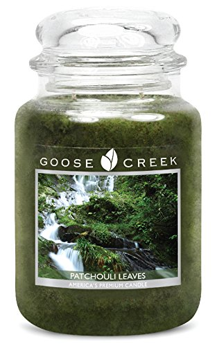 Goose-Creek-Scented-Candles-Patchouli-Leaves-Essential-Jar-Candle-Top-Quality-Great-Fragrance-24-Ounce