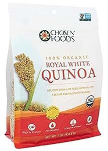 Chosen Foods Organic Royal White Quinoa, 16 Ounce