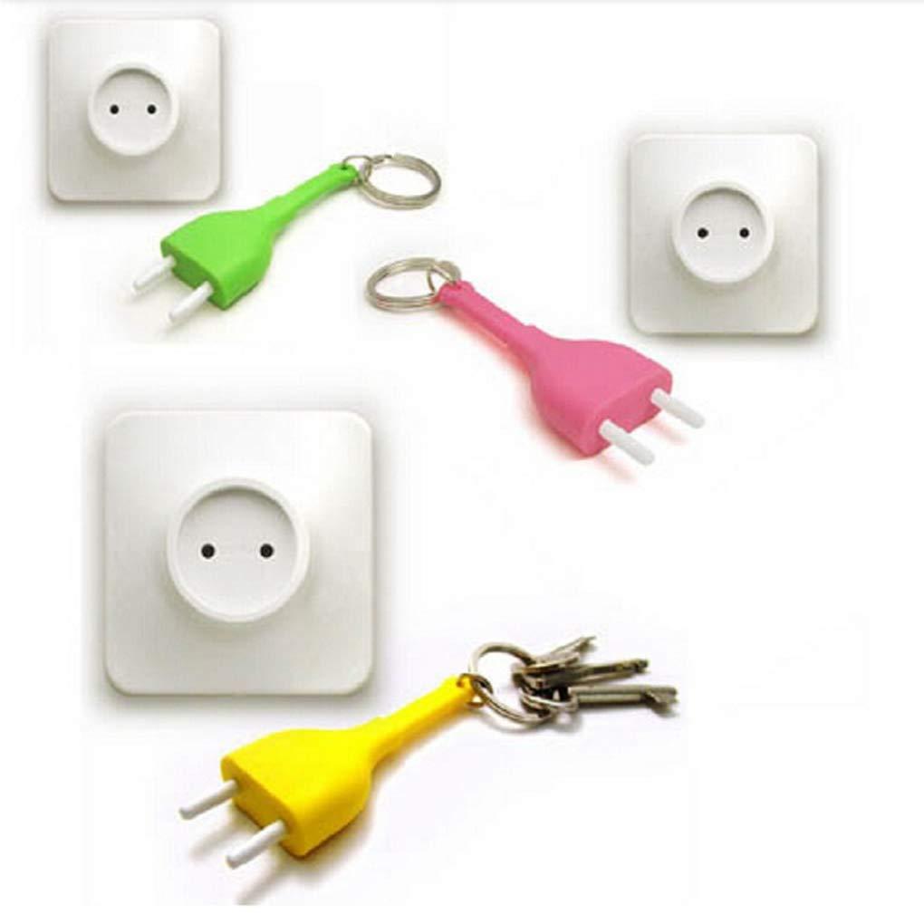Creative Key Hanger Rack Decorative Holder Wall Hook for Kitchen Organizer Bathroom Accessories