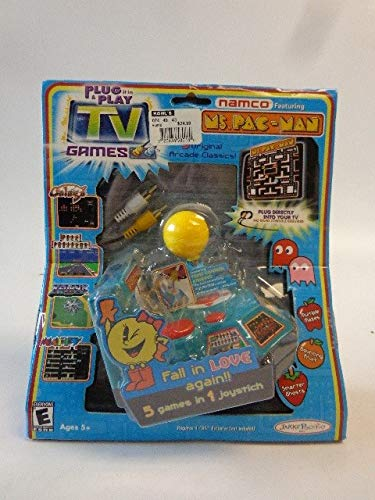 Remarkable Amazon Com Namco Ms Pac Man Plug Play With 5 Tv Games Toys Games Wiring Digital Resources Remcakbiperorg